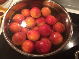 Peaches in Water