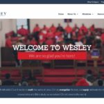 Wesley United Methodist Church-Churches using the Divi Wordpress Theme